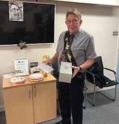 Retirement time but certainly not goodbye to our Steve!
